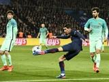 «Барселона» пролетела над Парижем