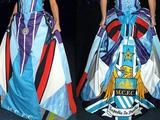 Свадебное платье «Манчестер Сити» (ФОТО)