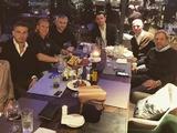 Вида провел в Киеве прощальный ужин с балканцами «Динамо» и «Шахтера» (ФОТО)
