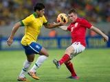 В стане соперника. Англия сыграла вничью с Бразилией