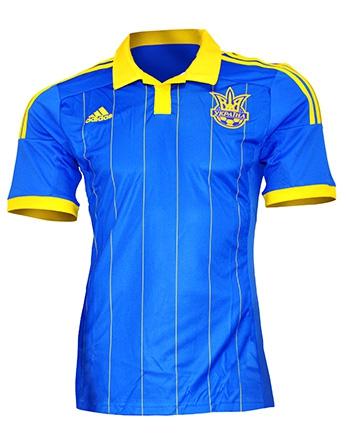 Сборная Украины, Игровая футболка Adidas Away Kit 2014/16