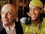 Галлиани хочет, чтобы Роналдиньо остался в «Милане»