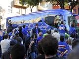 Автобус «Сампдории» в Риме разрисовали свастикой