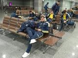Сборная Украины отправилась во Львов
