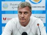 Олег Лещинский: «Никто не знает, что теперь будет с «Севастополем»
