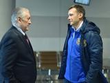 Национальная сборная Украины отправилась в Одессу без Хачериди
