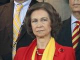 Королева Испании заходила в раздевалку сборной  Испании