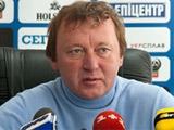 Владимир Шаран: «Хочется, чтобы в игре национальной сборной было больше фланговых проходов»