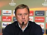 «Динамо» — АЕК — 0:0. Послематчевая пресс-конференция