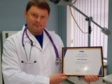 Врач «Динамо» Андрей Шморгун первым в Украине получил диплом ФИФА по футбольной медицине