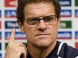 Капелло назвал состав сборной Англии на матч с Хорватией