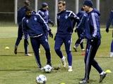 ФОТОрепортаж: открытая тренировка «Динамо» накануне матча с «Маккаби» (22 фото)