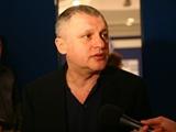 Игорь СУРКИС: «Шовковский заверил, что за вратарскую позицию можно быть спокойным»