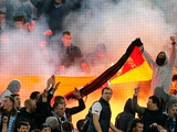 Позиция УЕФА: полотнище, которое подожгли фанаты «Зенита», не является государственным флагом Германии