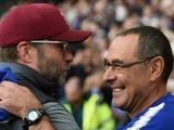 Сарри рассказал о разговоре с Клоппом во время матча «Челси» и «Ливерпуля»