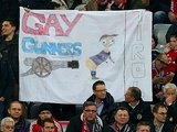«Бавария» наказана за гомофобский баннер
