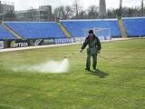 Поле стадиона «Локомотив» готово принять матч «Таврия» — «Арсенал» (ФОТО)