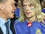 Тимощук сравнялся по сыгранным матчам на уровне сборных с Олегом Блохиным