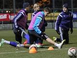 ФОТОрепортаж: тренировка сборной Украины в Конча-Заспе (24 фото)