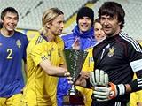 Сборная Украины обыграла сборную Швеции и стала победителем Cyprus Cup! (ВИДЕО)