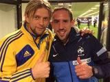 Тимощук: «Пообщался с другом Франком после игры»