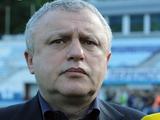 Игорь СУРКИС: «Надеюсь, Ребров докажет, что в этот раз я сделал правильный выбор»