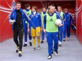 Сборная Украины сыграет в синей форме