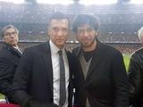 Андрей Шевченко посетил матч «Барселона» — ПСЖ