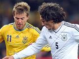 Сборная Украины открыла «Олимпийский» ничьей со сборной Германии (ФОТО, ВИДЕО)
