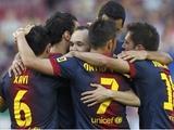 «Барселона» повторила рекорд «Реала», набрав 100 очков в примере