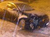 Бывший форвард «Динамо» разбил на снегу автомобиль