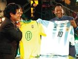 Диего Марадона: «Пеле всегда будет вторым»
