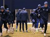 ФОТОрепортаж: открытая тренировка «Динамо» накануне ответного матча с АЕКом