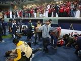 В Кувейте из-за обрушения трибуны пострадало 40 человек (ФОТО)