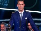 Криштиану Роналду — игрок года по версии ФИФА (ВИДЕО)