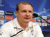 Тренер «Виктории» хочет, чтобы его игроки хотя бы раз попали по воротам «Барселоны»