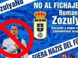 Фанаты «Овьедо» выступили против перехода Романа Зозули, обвинив его в нацизме (ФОТО)