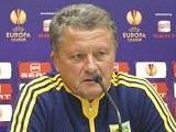 Мирон Маркевич: «Будем атаковать «Олимпиакос», но не с шашками наголо»