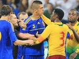 Украина — Камерун — 0:0. ФОТОрепортаж (13 фото)