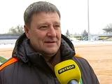 Александр Сакара: «Подогрев на «Нике» уже включен, газон в надлежащем состоянии»