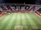 Стадионы «Црвены Звезды» и «Партизана» временно дисквалифицированы