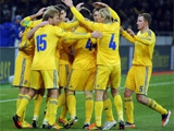 Украина — Англия: стартовые составы команд
