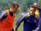 Завтра сборная Украины проведет открытую для болельщиков тренировку