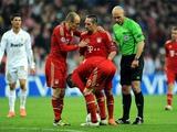 «Бавария» оштрафовала Рибери за потасовку с Роббеном
