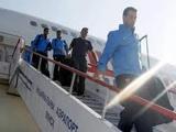 «Барселона» покинула Минский аэропорт через черный вход