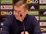 «Динамо» — «Верес» — 1:0. Послематчевая пресс-конференция