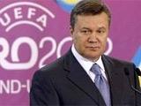 Янукович поздравил Блохина и напомнил ему об ответственности
