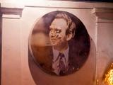 Портрет Лобановского пострадал во время восстания на Грушевского (ФОТО)