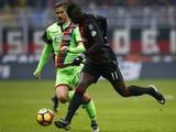 «Милан» с трудом вырвал победу в матче с «Кротоне» (ВИДЕО)