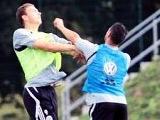 Игроки «Вольфсбурга» устроили драку на тренировке (ФОТО)